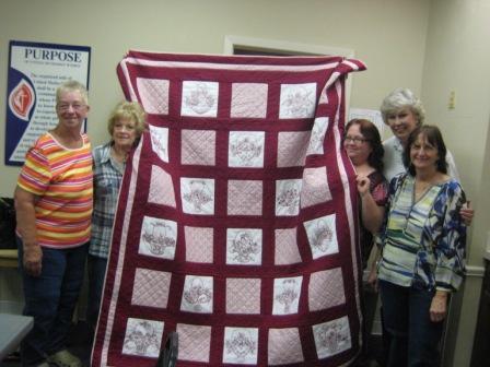 Ta Da it is a quilt