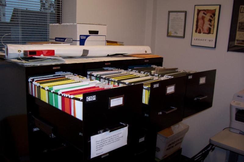 Irwin office files