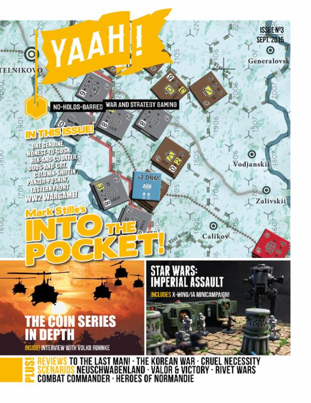 Flying Pig Games releases issue #3 of Yaah! magazine.