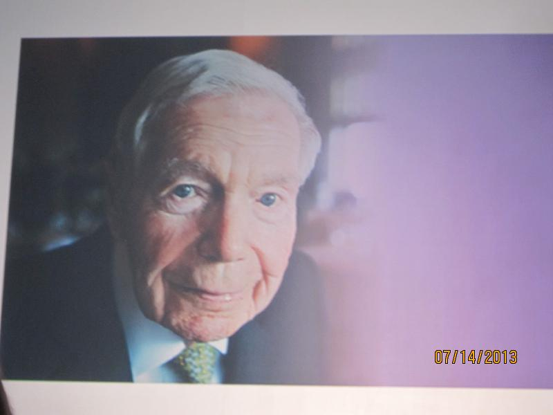 Jerry Stone, Founding President of Alzheimer's Association in 1979, now 100 years old and still vital!