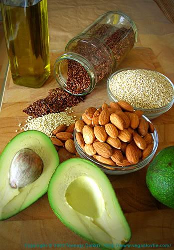 Avocado and Almonds