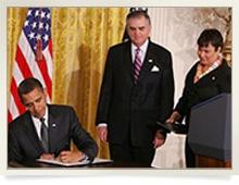 Obama Signing NAPA Jan 2011