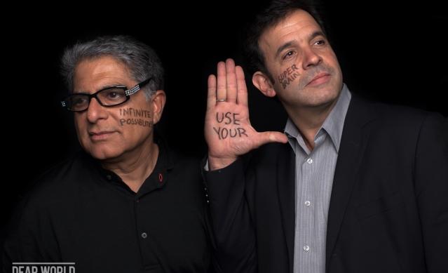 Deepak and Rudy