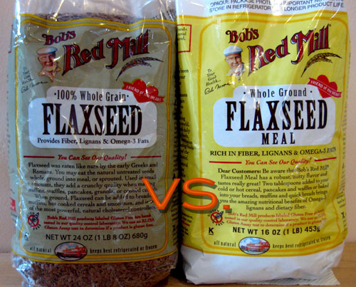 Flaxseeds Ground Vs Whole