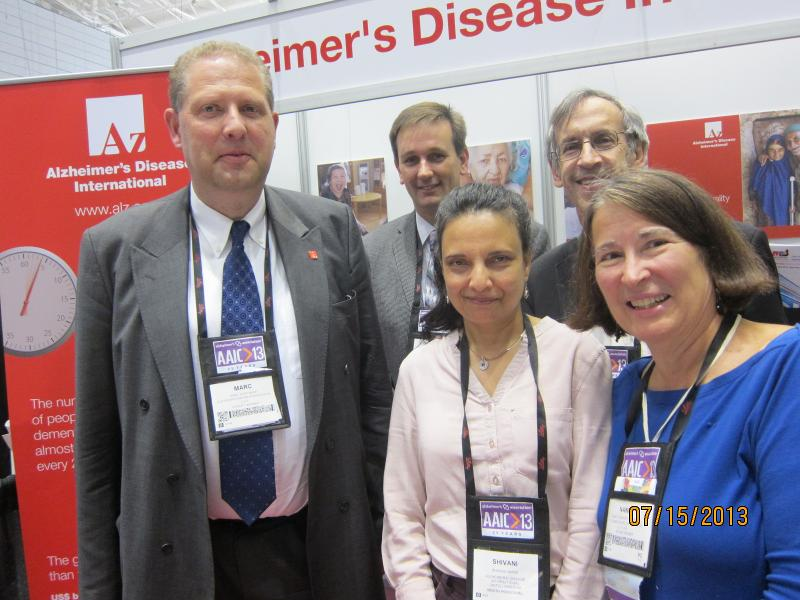 Alzheimer's Disease International at AAIC