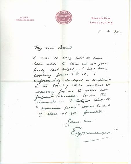 naturalist letter