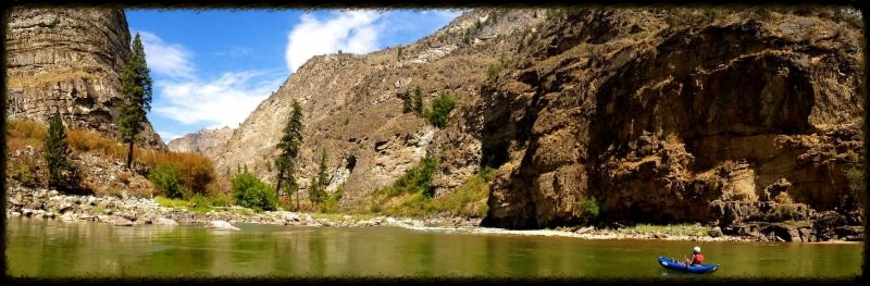 Impassible Canyon Middle Fork Salmon River