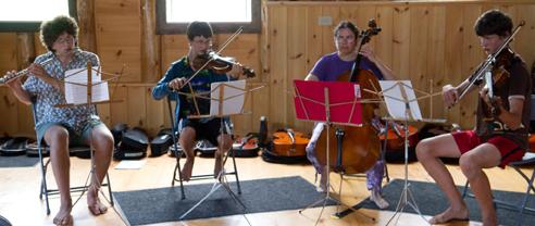Cello Recital at Camp Common Ground