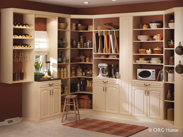ORG Home Pantry in Maple