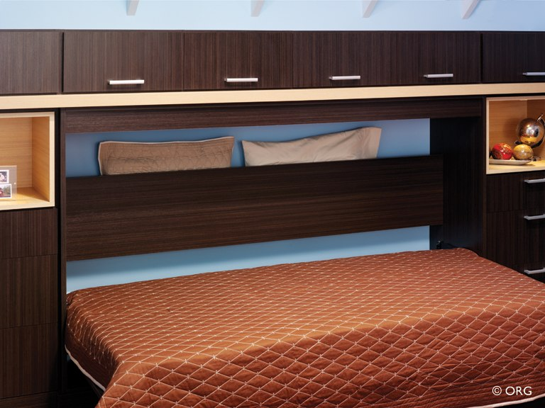 ORG Home wallbed with pillow box