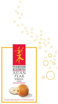 Asian Pear Sparkling Wine