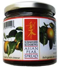 Asian Pear Spread