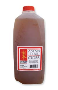 Asian Pear Cider