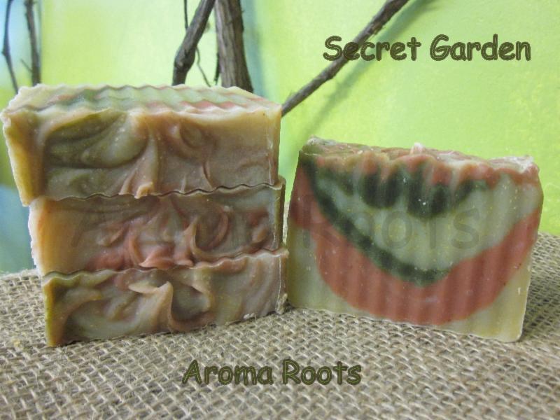 Aroma Roots handmade soap