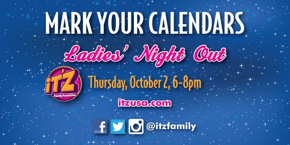 RSVP now for Ladies' Night Out: $9.99 buffet, drink, gift bag, game of bowling + shoes