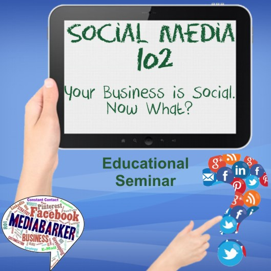Social Media 102. Your Business is Social. Now What