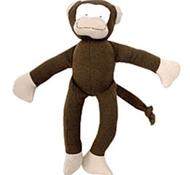Organic Cotton Stuffed Toy Monkey
