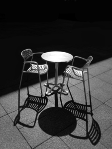 Table for Two by John Solberg