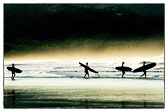 Here Come the Surfmen by Mark Widman