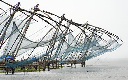 Chinese Fishing Nets by Joel Krenis
