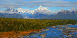 Denali, Alaska by Dick Welch