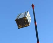 New VRF Condensing Unit overhead