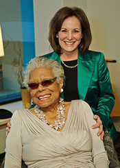 Maya Angelou and Rhonda H. Lauer
