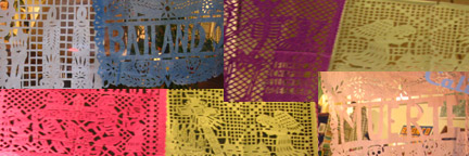 Papel Picado -Cut paper banners