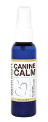 Canine Calm helps dogs relax during unsettling times.