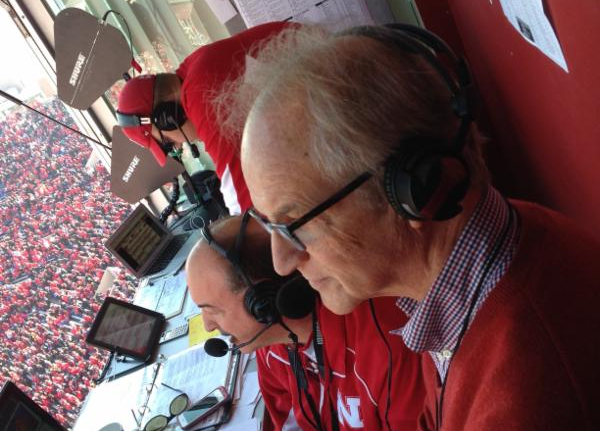 Roberto Lenton at Husker Game 2014