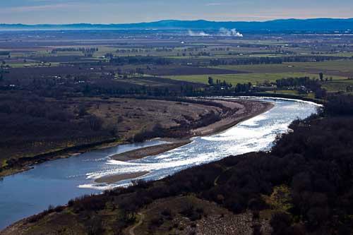 Sac River Aerial S Curve