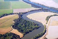 Sac River and Farmland
