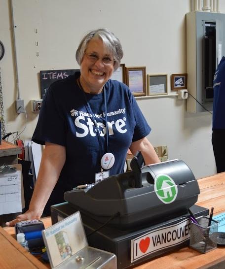 volunteer cashier