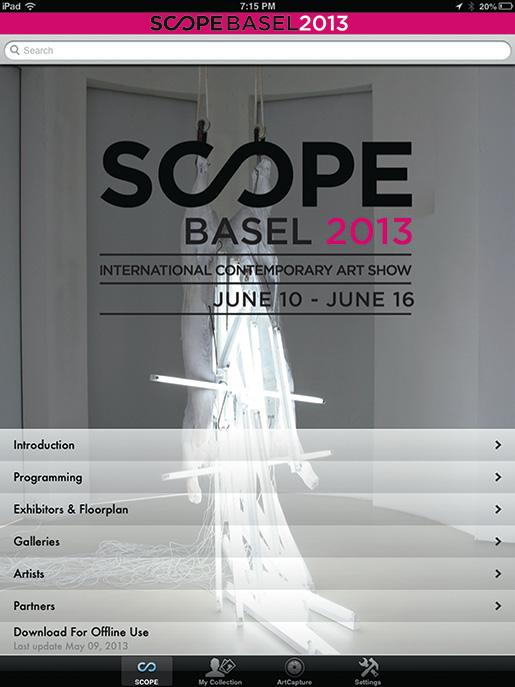 SCOPE Basel 2013 Sponsors