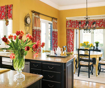 factory paint decorating kitchen color combinations