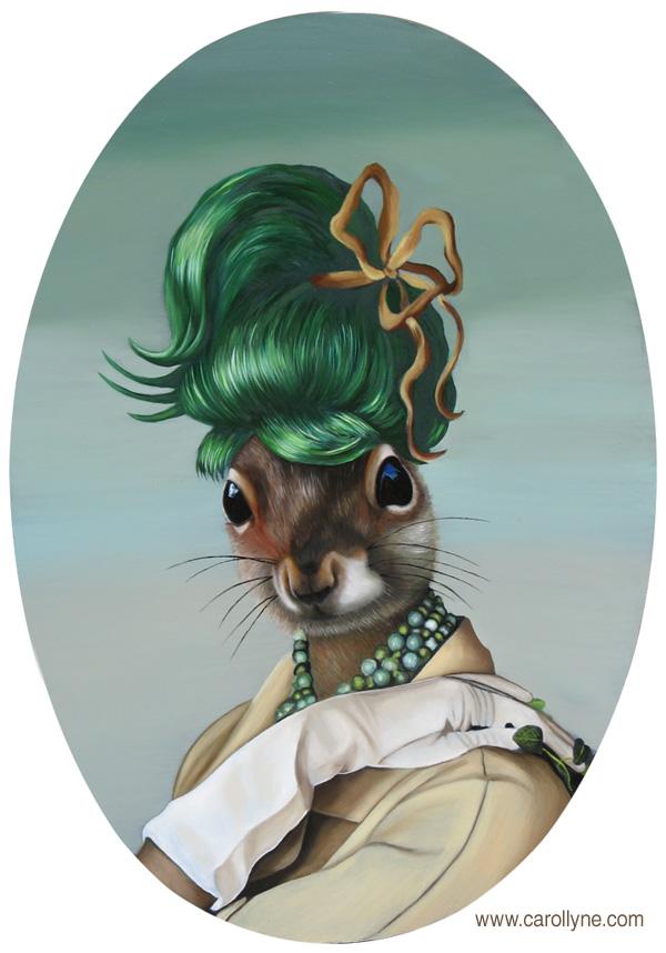 Green Bun Squirrel