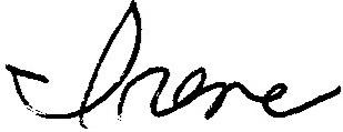 Irene van der Zande signature