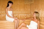 Spa Ladies in Sauna