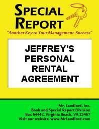 Jeffery's Personal Lease