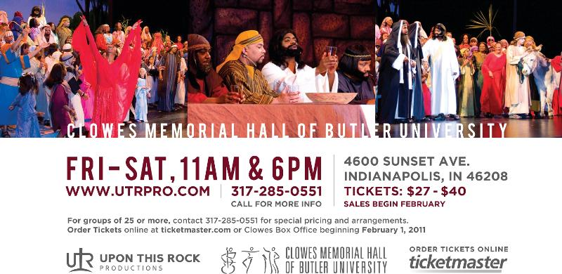 Upon This Rock Passion Play - $25 Tickets