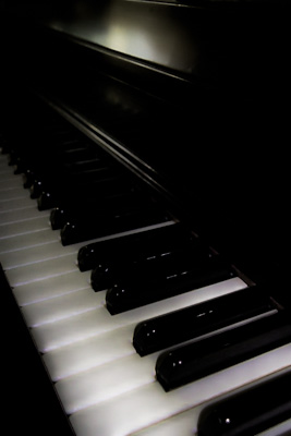 piano blur