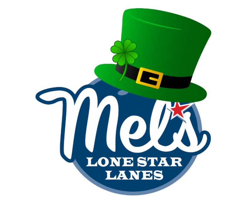 St. Patrick's Day Mel's Logo with green hat