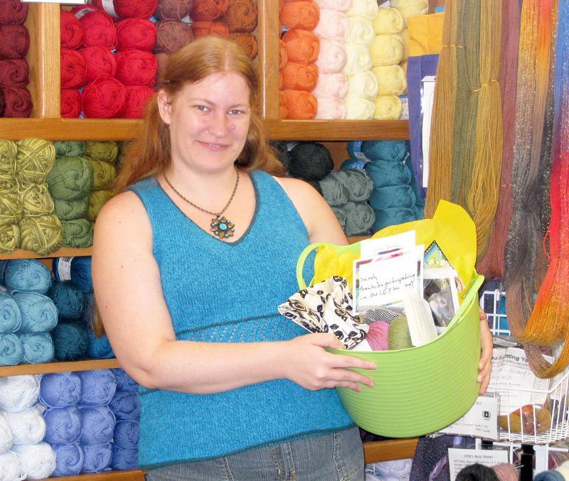 Sarah w prize