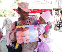 First 5 San Diego Reaches Out to New Military Parents