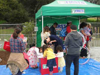 Hands-On Health Express Visits Cherry Blossom Festival