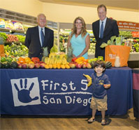 First 5 San Diego-Vons Healthy Eating Initiative Now Underway