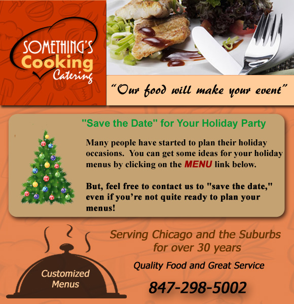 Somethings Cooking Catering 2014 Save The Date