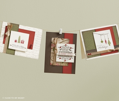 Pear and Partridge Cards