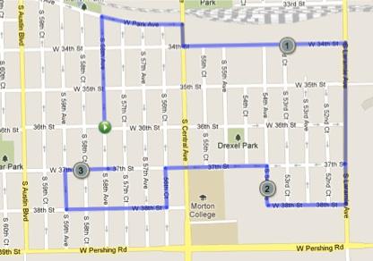 CCS 5k Route