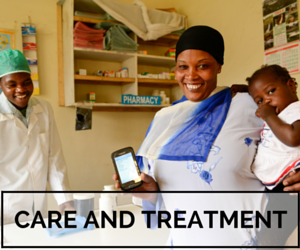 Care and Treatment – Linkage, Access, Adherence, Retention